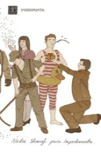 Libreta ilustrada Nader Sharaf: portada