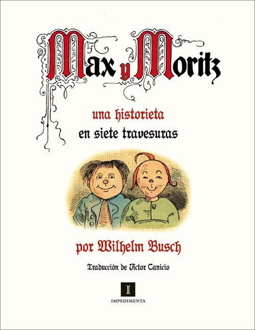 Max y Moritz: portada
