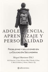 Adolescencia, aprendizaje  y personalidad.: portada