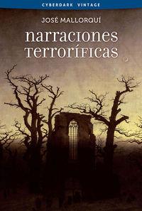 NARRACIONES TERROR�FICAS: portada