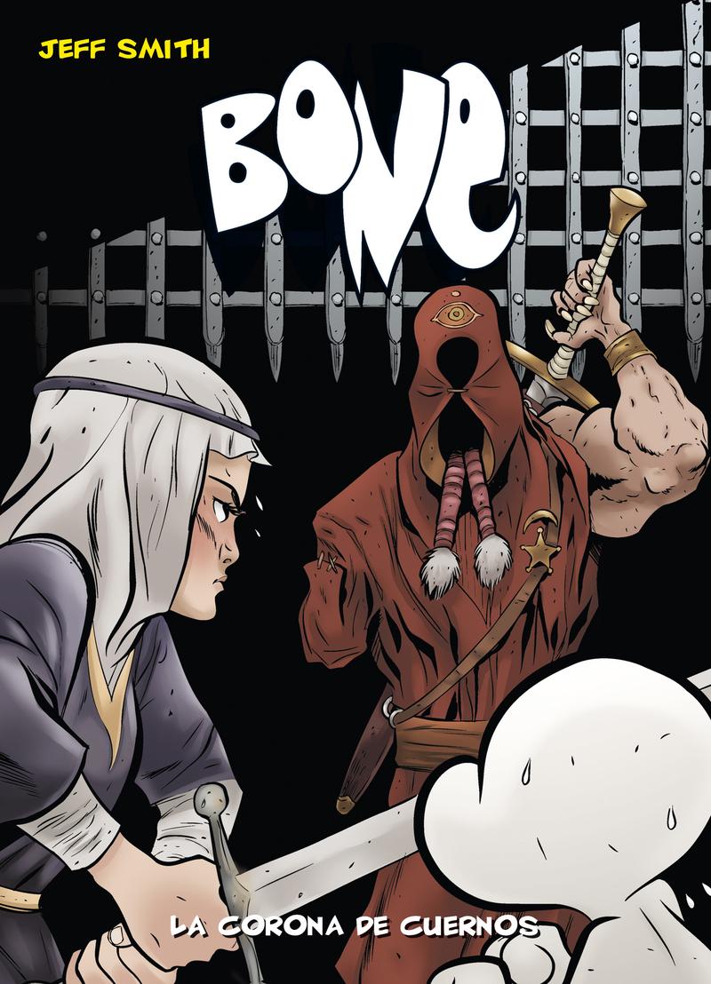 BONE 9 LA CORONA DE CUERNOS-BOLSILLO: portada