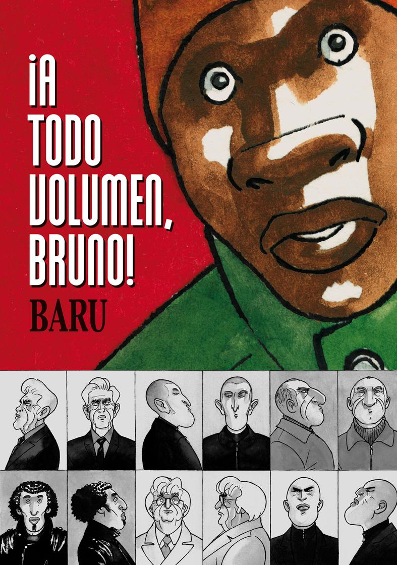 ¡A TODO VOLUMEN, BRUNO!: portada
