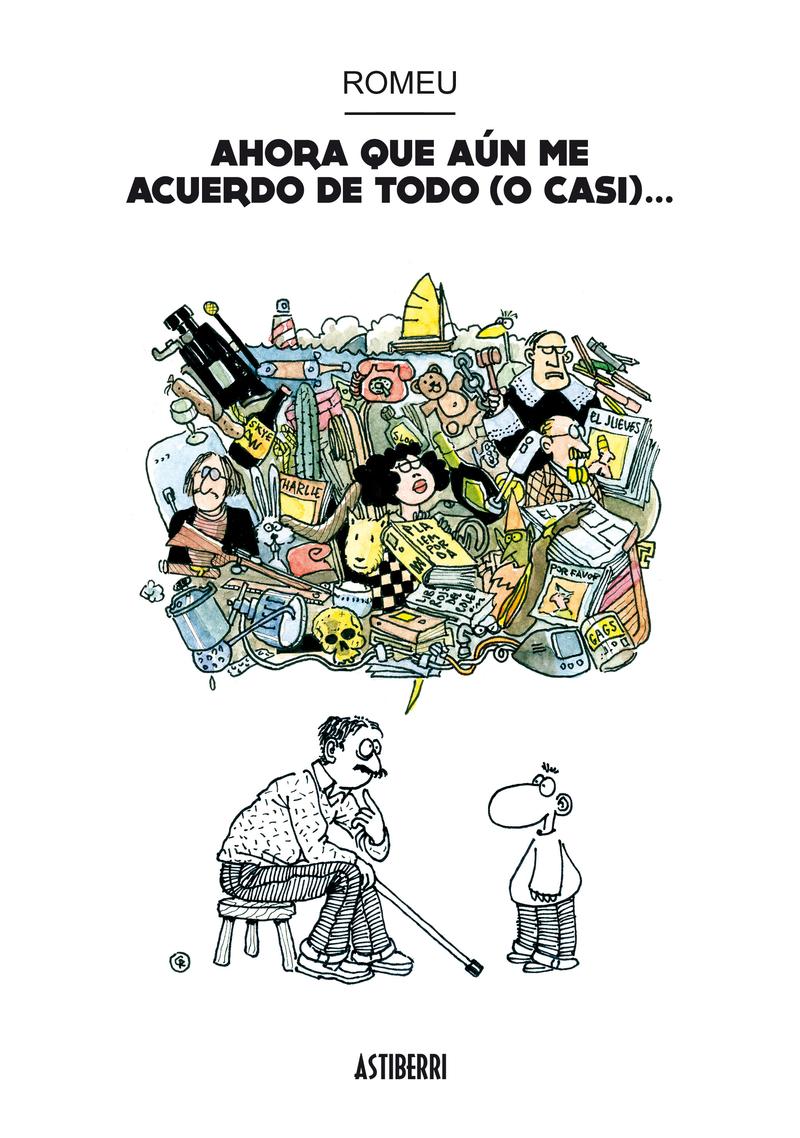 AHORA QUE AÚN ME ACUERDO DE TODO (O CASI...): portada