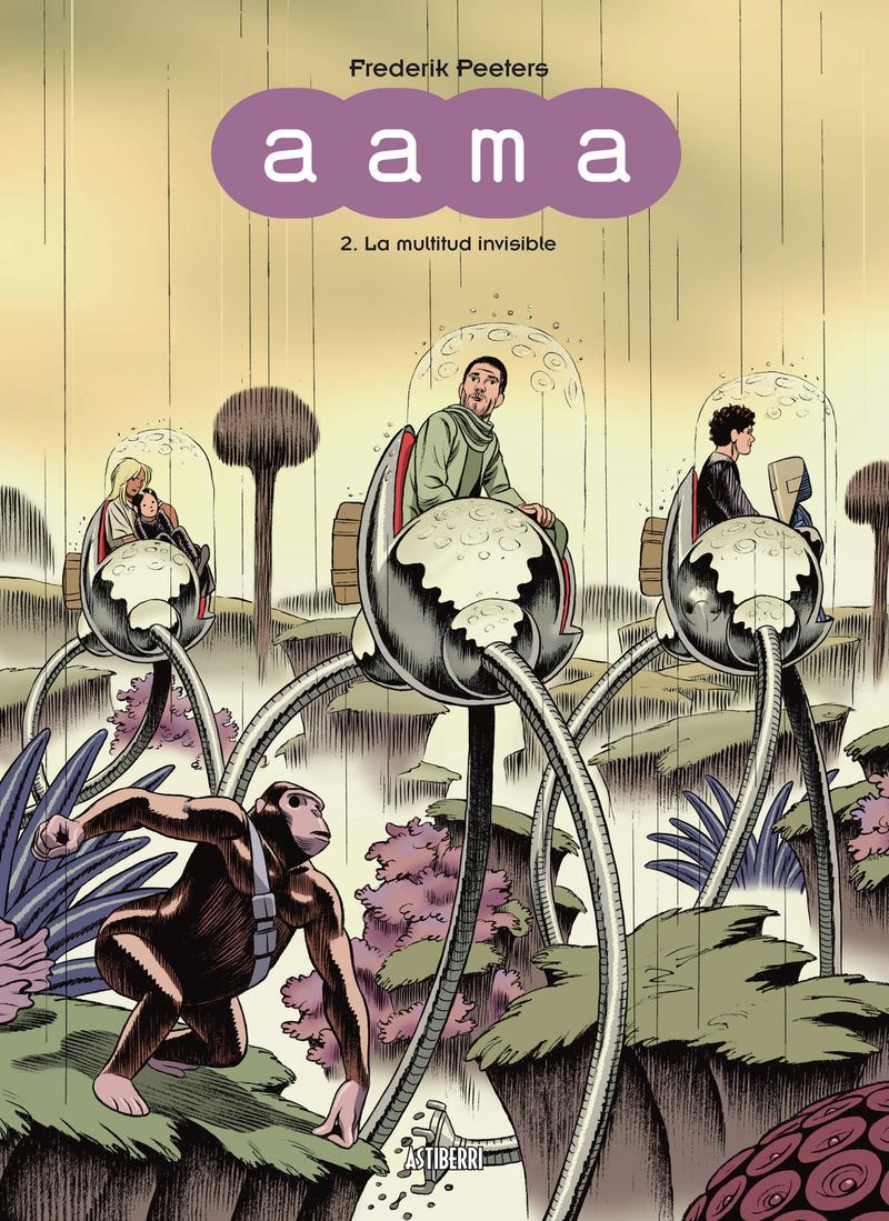 AAMA 2. LA MULTITUD INVISIBLE: portada