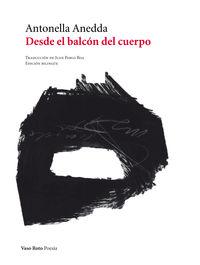 DESDE EL BALCÓN DEL CUERPO: portada