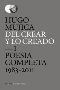 DEL CREAR Y LO CREADO: portada