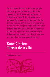TERESA DE ÁVILA: portada