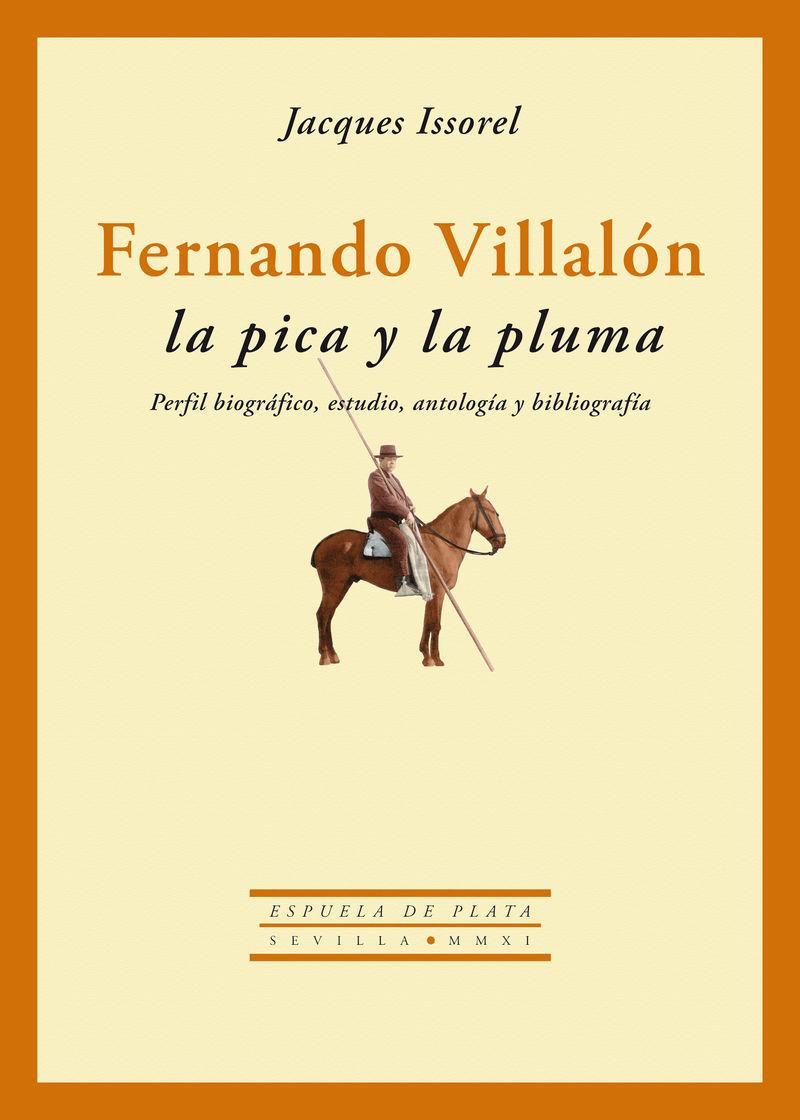 Fernando Villalón: La pica y la pluma: portada