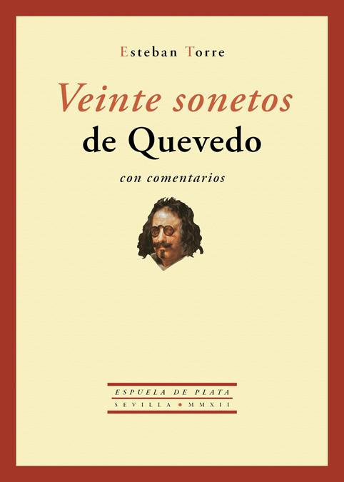 VEINTE SONETOS DE QUEVEDO CON COMENTARIOS: portada