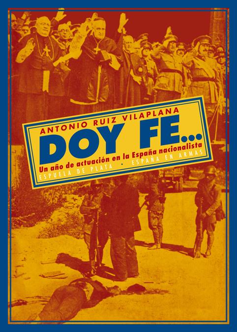 DOY FE...: portada