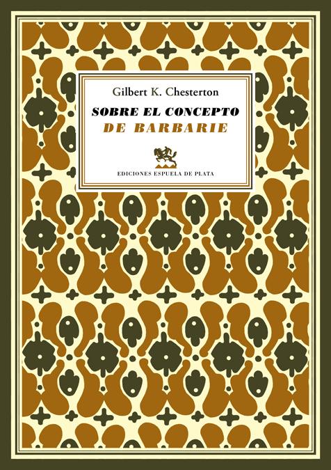 Sobre el concepto de barbarie: portada