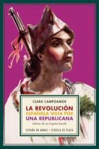 La revoluci�n espa�ola vista por una republicana: portada