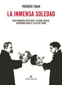 LA INMENSA SOLEDAD: portada