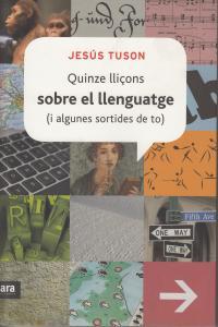 QUINZE LLIÇONS SOBRE EL LLENGUATGE - CAT: portada