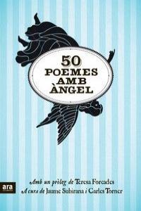 50 POEMES AMB ÀNGEL: portada