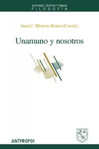 UNAMUNO Y NOSOTROS: portada