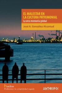 MALESTAR EN LA CULTURA PATRIMONIAL: portada