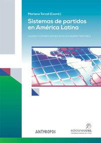 SISTEMAS DE PARTIDOS EN AMÉRICA LATINA: portada