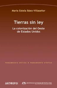 TIERRAS SIN LEY: portada