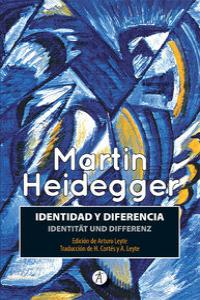 IDENTIDAD Y DIFERENCIA / IDENTITAT UND DIFERENZ: portada
