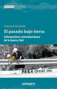 EL PASADO BAJO TIERRA: portada