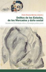 DELITOS DE LOS ESTADOS, DE LOS MERCADOS Y DAÑO SOCIAL: portada