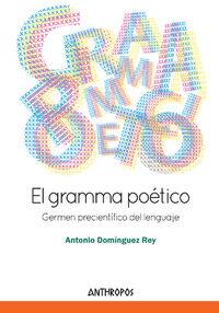 GRAMMA POÉTICO, EL: portada