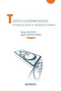 TEXTOS E INTERPRETACIÓN: INTRODUCCIÓN AL ANÁLISIS LITERARIO: portada