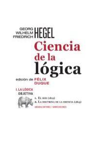 Ciencia de la lógica. I. La lógica objetiva: portada