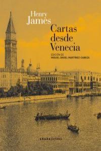 Cartas desde Venecia: portada