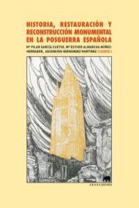 Historia, restauración y reconstrucción monumental en la pos: portada