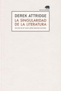 SINGULARIDAD DE LA LITERATURA,LA: portada