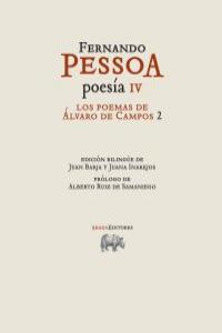 POESÍA IV. Los poemas de Álvaro de Campos 2 (ed bilingüe): portada