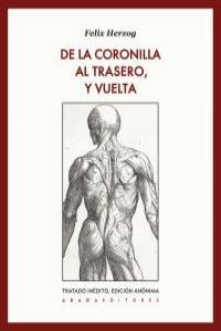 DE LA CORONILLA AL TRASERO, Y VUELTA: portada