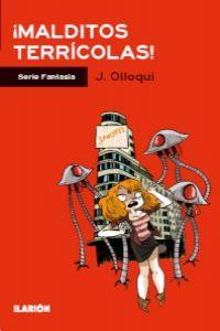 ¡MALDITOS TERRÍCOLAS!: portada