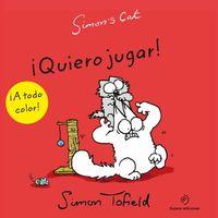 SIMON'S CAT VII QUIERO JUGAR: portada