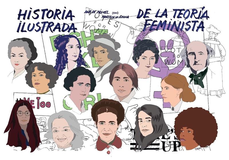 Historia ilustrada de la teoría feminista: portada