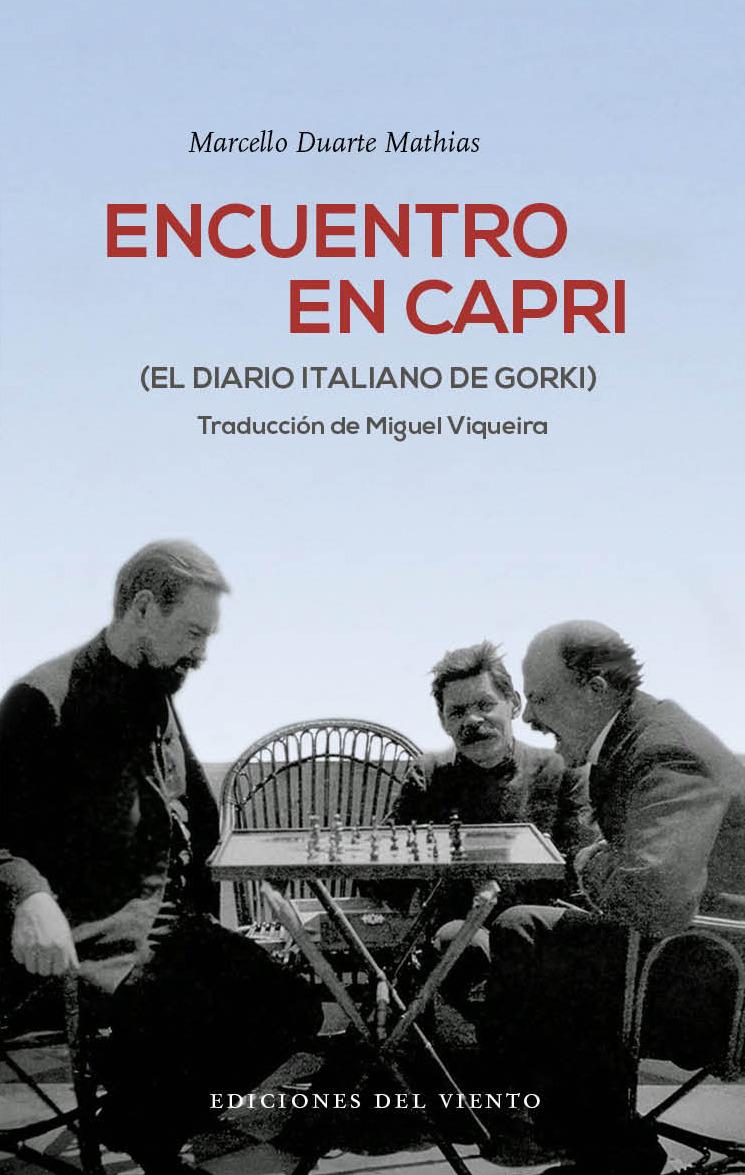 Encuentro en Capri: portada