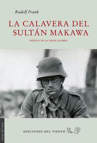 LA CALAVERA DEL SULTAN MAKAWA: portada