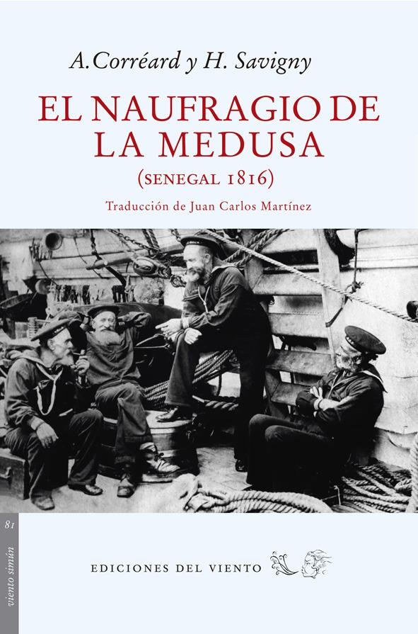 El naufragio de la Medusa: portada