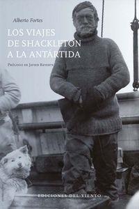 VIAJES DE SHACKLETON A LA ANTARTIDA,LOS: portada