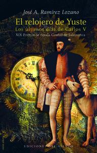 El relojero de Yuste: portada