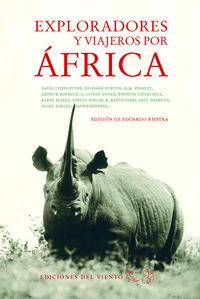 Exploradores y viajeros por África: portada
