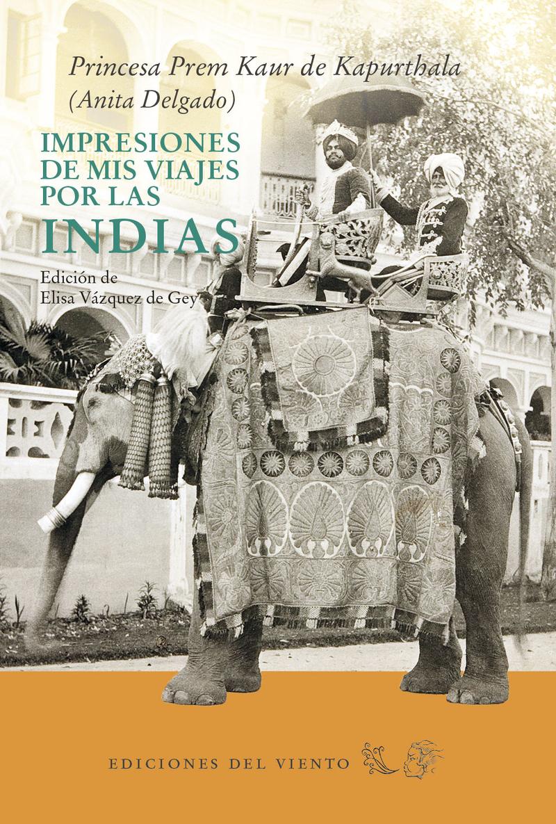 Impresiones de mis viajes por las Indias: portada