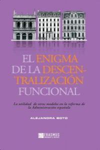 EL ENIGMA DE LA DESCENTRALIZACI�N FUNCIONAL: portada