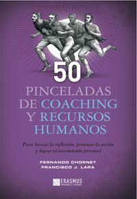 50 PINCELADAS DE COACHING Y RECURSOS HUMANOS: portada
