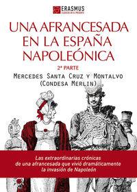 UNA AFRANCESADA EN LA ESPAÑA NAPOLEÓNICA: portada
