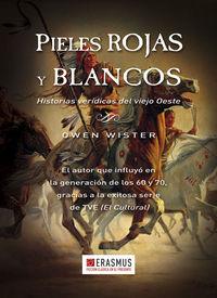 PIELES ROJAS Y BLANCOS: portada