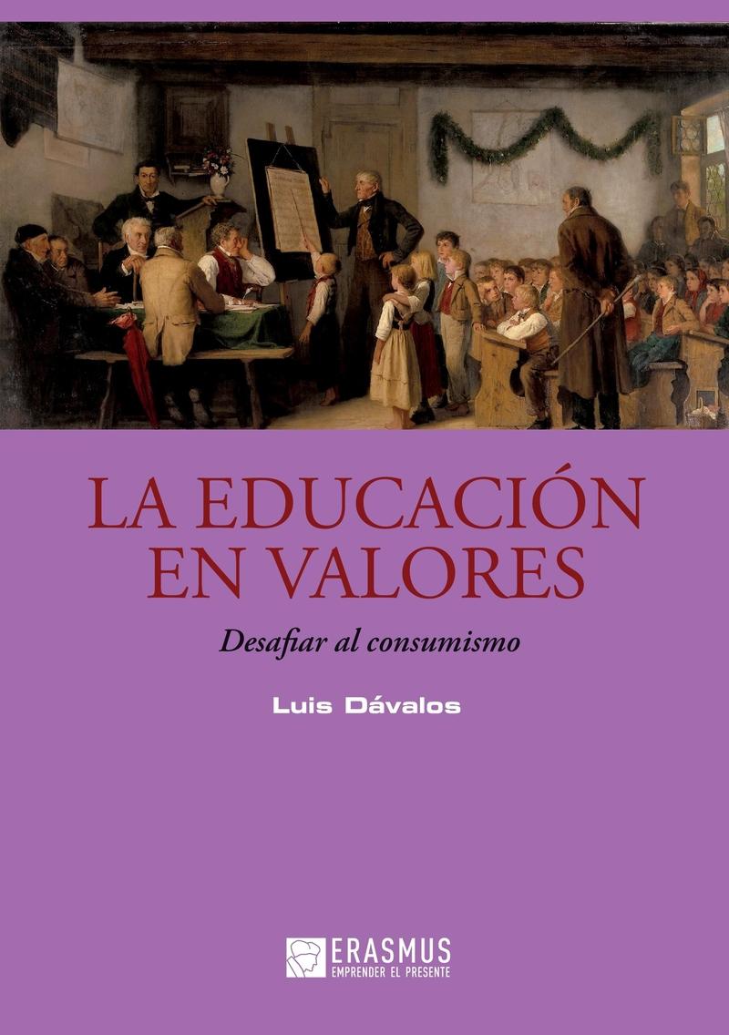 La educación en valores: portada