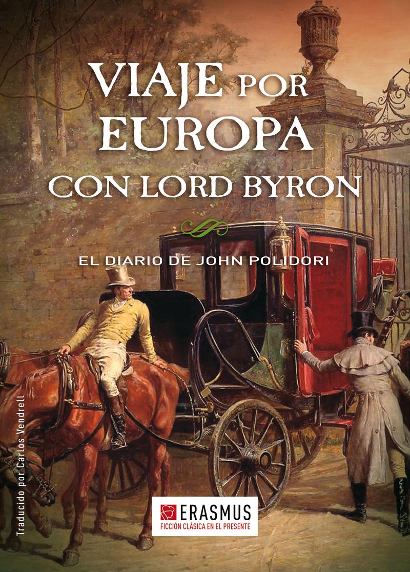 VIAJE POR EUROPA CON LORD BYRON: portada